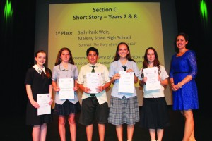 Section C - Short Story - Years 7 & 8